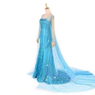 🔴FROZEN ELSA Cosplay Dress