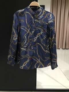 Massimo Dutti Long Sleeves Shirt (Size S)