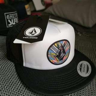 Volcom trucker cap