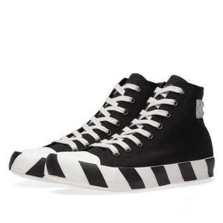 Off-White Stripe High Sneaker