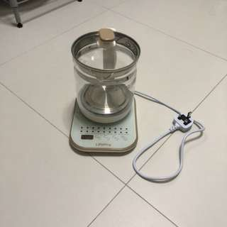 Electric kettle with smart timer