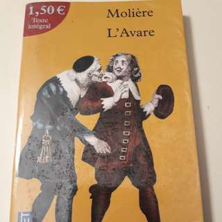 L' Avare  - Moliere (French)