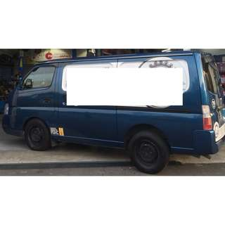 VAN NISSAN URVAN SWB FOR SALE!