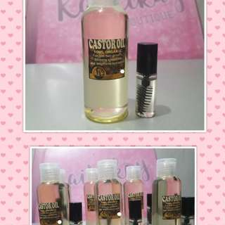 Castor Oil 50ml with FREE Mascara tube.