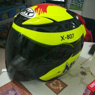 NHK luminous helmet size L