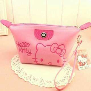 Hello kitty cosmetic bag
