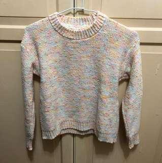🚚 混色針織毛衣