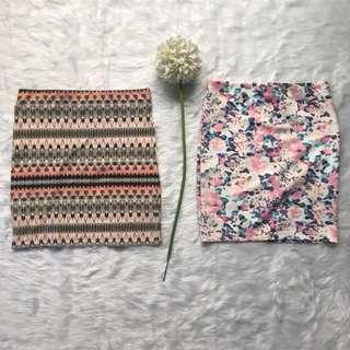 Free SF Bundle Bershka bandage skirts