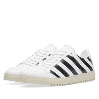 Off-White Diagonal Sneaker