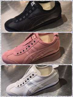 Onitsuka Tiger SlipOn Leather (New Arrival)(Authentic)