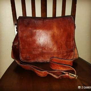 Cross Body Fully Leather Unbrand