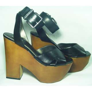 Brand new authentic Circus by Sam Edelman ankle strap platform wedge heels