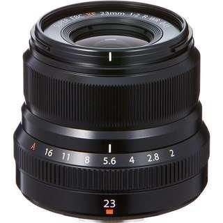 BNIB SEALED Fuji 23mm f2 lens