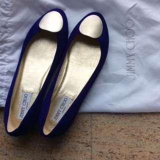 jimmy choo flat shoe