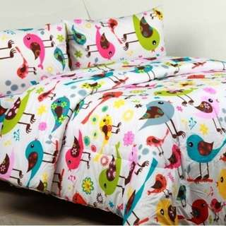 Sprei anak little birds