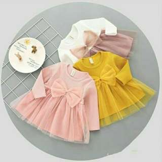 Dress han bok bow