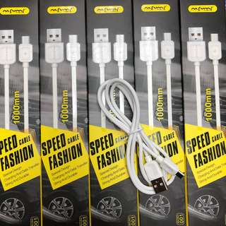 NAFUMI Micro-USB v8 100cm Cable for Android 數據線 充電線