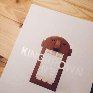 King Brown No 8. Street Art Magazine