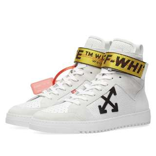 Off-White High Top Sneaker 「最後一對!」