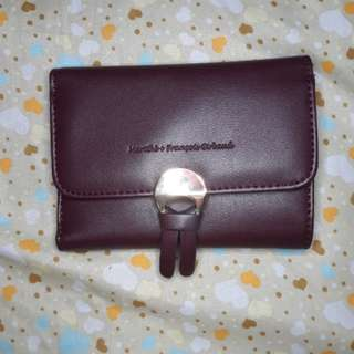 Girbaud maroon wallet