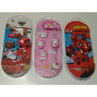 Kids Character LCD Watch