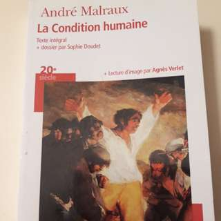 La condition humaine - Andre Malraux (French)