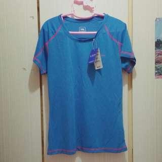 全新女裝藍色行山運動衫