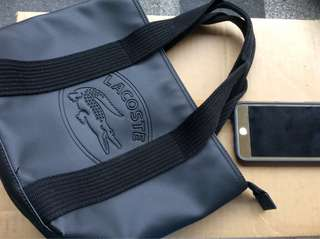 Authentic Lacoste small bag