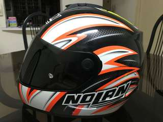 Nolan Marco Melandri Helmet