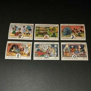 迪士尼郵票 22