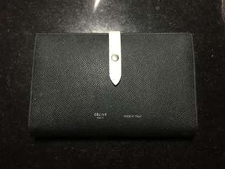 Celine strap large multifunction wallet