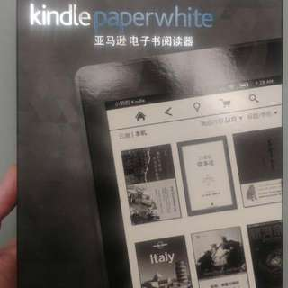 kindle paperwhite 黑色第7代wifi 4GB