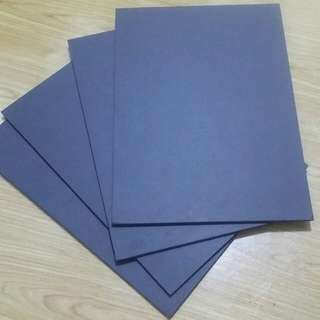 Black paper foam board thick 5mm size A3