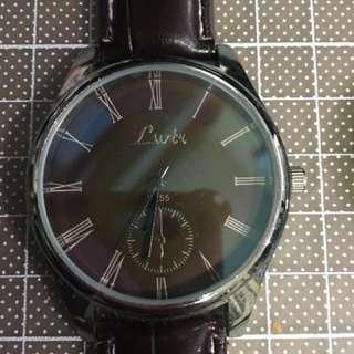 韓國簡約男裝錶(黑白)