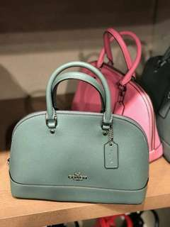 PO Coach Mini Sierra Satchel