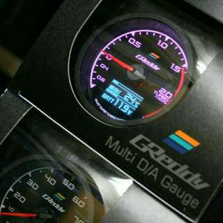 Greddy multi digital gauge 7color mode 2in1