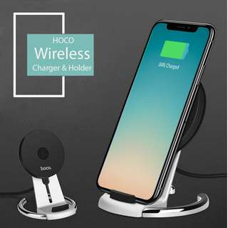HOCO Qi 9V快充 iPhone X / 8 plus 無線充電 Wireless Charging Stand