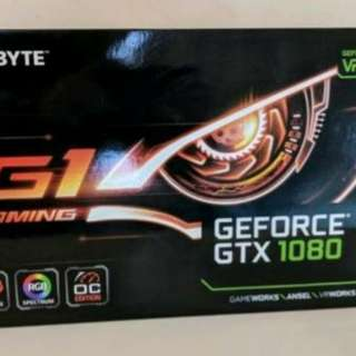 Gigabyte G1 GTX1080 New in Sealed Packaging