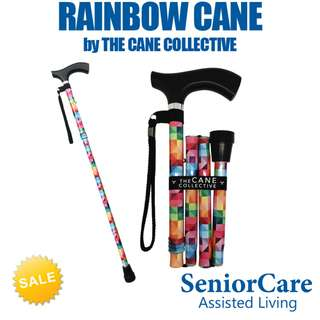 Rainbow Cane by The Cane Collective