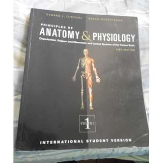 Principles of Anatomy and Physiology 13th Edition volumes 1 and 2