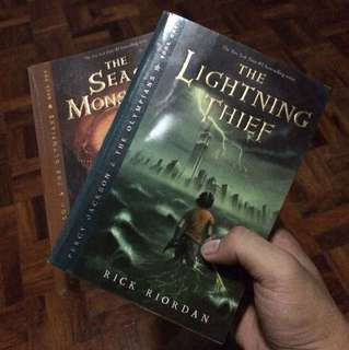 The Lightning Thief and The Sea of Monsters