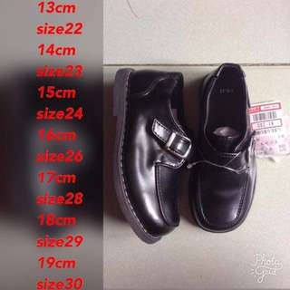 Japan black shoes brandnew