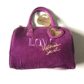 PLOVED: Victoria's Secret Speedy Suede Bag