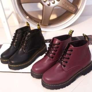 (PO) Harajuku Lace Martin Boots