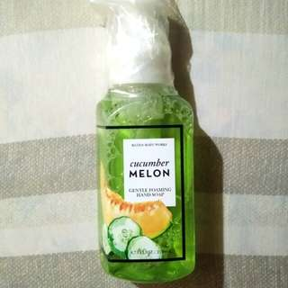 Bath and Body Works Hand Soap Cucumber Melon