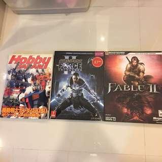 Gundam , Star Wars, Fable Magazines