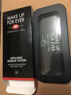 Makeup forever booties rechargeable refillable case