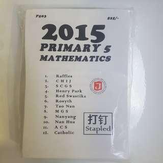 Pri 5 Math papers