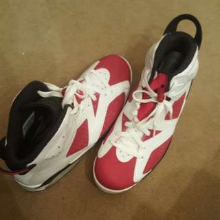 """Air Jordan 6 Retro """"carmine"""" - Air Jordan - 384664 160 - white/carmine-black"""