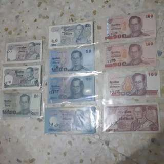 Thai Baht Commemorative Currency Notes